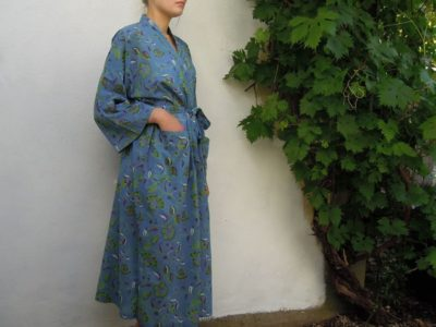 Green Flower Kimono