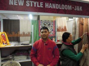 hand-loom stall